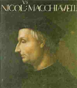 Niccolo Machiavelli by Cristofano dell'Altissimo Uffizi