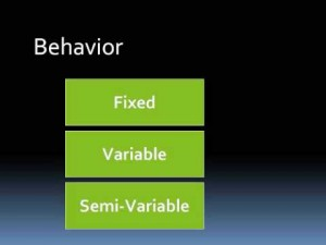 cost-behavior